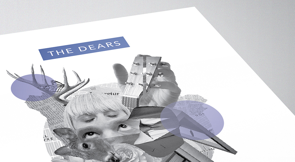 The Dears poster close up